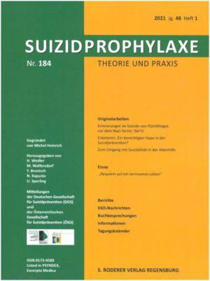 Suizidprophylaxe Heft 184