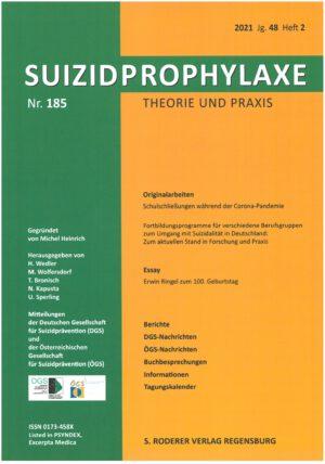 Suizidprophylaxe Heft Nr. 185